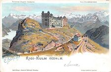 B20115 Rigi Kulm Litho 1904 Switzerland