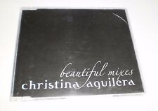 Christina Aguilera Beautiful Mixes Promo CD Single