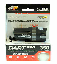 Cygolite Dart Pro 350 Rechargeable Bicycle Headlight