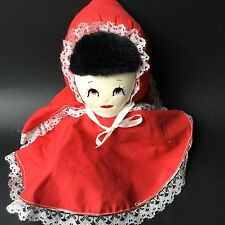 Topsy Turvy Doll Little Red Riding Hood Granny Wolf 3 In 1 Fairy Tale Toys EUC