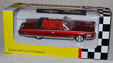 MTH Rail King Roadsters 1/43 O Scale 1964 Chrysler Turbine Car - Red - Diecast