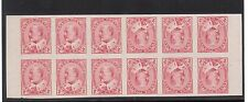 Canada #90bc XF Mint Tete Beche Imperf Pane Of 12 **With Certificate**
