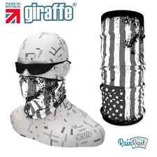 G396 USA Black White Flag Headgear Neckwarmer multifunctional Bandana Headband