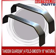 "2 X TANDEM GUARD 84"" 4 FOLD-SMOOTH 10"" NATURAL"