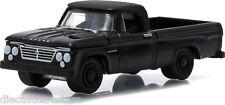 GREENLIGHT  1963 DODGE D-100 PICK UP TRUCK 1/64 BLACK BANDIT 27790A