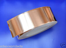 Copper Foil Tape EMI shielding for Guitar/Slug and snail barrier 2'x50mm
