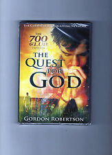 BRAND NEW SEALED DVD: THE QUEST FOR GOD--GORDON ROBERTSON--THE 700 CLUB--2011