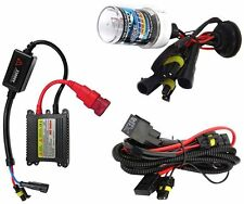 1x HID XENON HEAD LIGHT KIT FOR ALL BIKES AND CAR 8000K  HI=WHITE / LOW=YELLOW