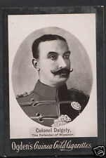 (ZZ) - Cigarette Card - Ogdens Guinea Gold - Military - Colonel Dalgety
