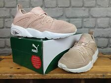 PUMA LADIES UK 5 EU 38 PINK SUEDE TRINOMIC TRAINERS RRP £114