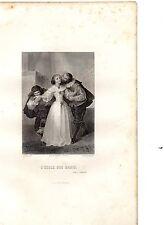THEATRE DE MOLIERE 1860 / L'Ecole des maris