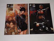 ASPEN COMICS EXECUTIVE ASSISTANT IRIS #2 COVERS A and B