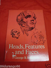 Dover Anatomy for Artists: Heads, Features and Faces by George B. Bridgman...