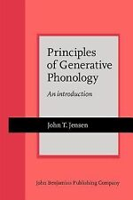 Principles of Generative Phonology: An introduction (Current Issues in Linguisti