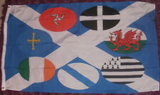Celtic Nations Flag 2 Nationalist Nationalism republican Scotland Scottish Irish