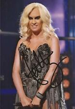 X FACTOR: KITTY BRUCKNELL SIGNED 6x4 SEXY ACTION PHOTO+COA