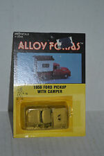 Alloy Forms 2042 1956 Ford Pickup with Camper Ho Scale Metal Kit