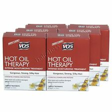 (Pack of 6) VO5 IN BOX Hot Oil Moisturizing Conditioning Treatment 2 Tubes