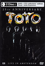 TOTO live in amsterdam DVD + CDNEU OVP/Sealed