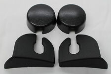 82-92 Camaro/Firebird Rear Hatch Strut Cover Trim Kit Black New Reproduction