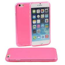 5 X Rosa De Silicona De Gel suave funda se adapta iPhone de Apple 6 Tpu Goma: Esmerilado posterior M37