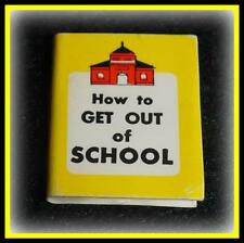 VTG BARBIE DOLL DREAM HOUSE CLONE MINI HOW TO GET OUT OF SCHOOL BOOK TAMMY MITZI
