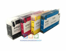 Cartuchos Rellenables para HP OfficeJet Pro 8600 8610 8615 All in One 950