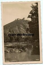 old photo postcard 1935 Hrad Cachtice
