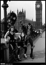 KISS- London May 1976 Poster Print 23.5x35 Rock & Pop Music