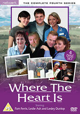 DVD:WHERE THE HEART IS - SERIES 4 - NEW Region 2 UK