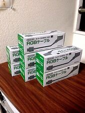 New Nintendo Official RGB Cable SHVC-010 Super Famicom SFC SNES Japan F/S