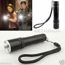 Super Bright Cree XM-L 6 LED UV Zoomable Focus Flashlight Laser Light Torch Lamp