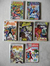 60 AVENGERS - WEST COAST AVENGERS - SECRET WARS II & MORE ASST. TITLES COMIC LOT