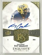 Ray Graham 2013 UD Exquisite RC Signatures on-card Auto #d 36/70 - TEXANS / PITT