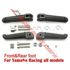 Motorcycle Front&Rear Footrests Foot pegs For Yamaha FZR600 YZF600 R6 R1 MT09