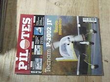 $$ Revue Pilotes N°2 Tecnam P-2002 JF  vol montagne  Robinson R-44  ULM STOL