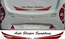 AUTO SLEEPER SYMPHONY MOTORHOME 2 PIECE KIT DECALS STICKER CHOICE OF COLOUR