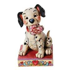 Disney Traditions Lucky Figurine Lucky In Love Dog Figurine New 4026083
