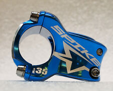 New Spank Spike Race Stem, 35mm, Blue