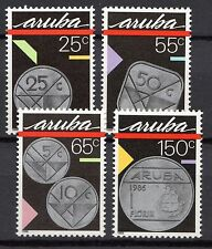 Dutch Antilles / Aruba - 1988 Coins Mi. 40-43 MNH