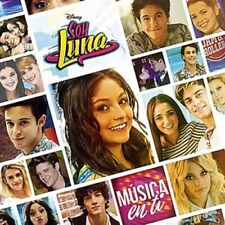 SOY LUNA MUSICA EN TI SOUNDTRACK BRAND NEW SEALED CD 2016 DISNEY