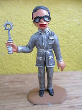 FIGURINE 75mm COMANSI THUNDERBIRDS BRAINS GRIS  REAMSA GERRY ANDERSON