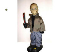 ANIMATED JASON FRIDAY the 13th TALKING MUSICAL HALLOWEEN FIGURE PROP HORROR