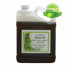 7 LB / ONE GALLON / 128 FL OZ NEEM OIL PURE ORGANIC