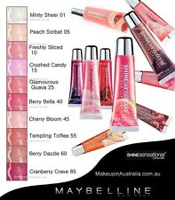 GEMEY MAYBELLINE SHINE SENSATIONAL LIP GLOSS BRILLANT A LEVRE 15 Crushed Candy