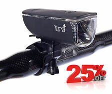 NEW TURA PORTLAND CYCLE FRONT HEAD LIGHT - HI POWER LED - ROAD BIKE TOUR BICYCLE