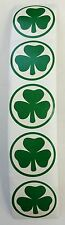 100 St Patrick's Day Shamrock Stickers Teacher Supply Party Favors Irish Green