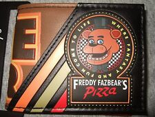 Nwt Five Nights At Freddy's 5 Freddy Faz Bear's Pizza Game Over Bifold Wallet