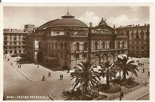 160188 BARI CITTÀ - TEATRO PETRUZZELLI Cartolina FOTOGRAFICA