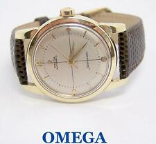 14k/Steel OMEGA SEAMASTER Automatic Watch 1950s Cal 501* 2846* EXLNT* SERVICED